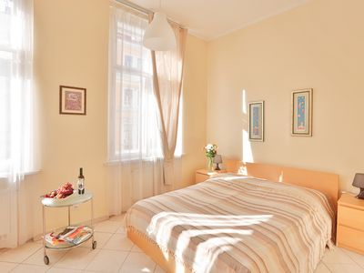Photo for Tyrsova Modern apartment in Nove Mesto with WiFi & lift.