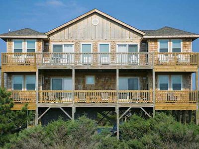 Photo for Oceanfront in Avon w/ WiFi, Cmty Pool, Tennis -Close to Restaurants, Shops, Pier
