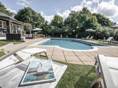 Photo for Country Estate to sleep up to 14  with stunning outdoor pool set in 10 acres.