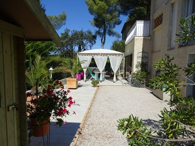 Photo for Studio 30 M2 in RDJ of villa in 1200 m beaches ideal for 2 people
