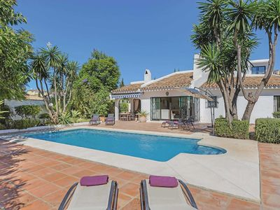 Photo for 3 bedroom Villa, sleeps 6 in Mijas with Pool, Air Con and WiFi