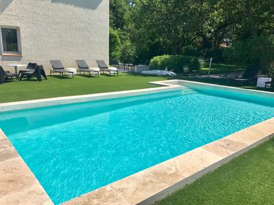Photo for House / Villa - Aix-en-ProvenceHouse with garden,swimming pool,area for playing boules....