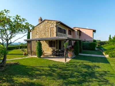 Photo for Farmhouse I Colli - located in Montaione in the heart of Tuscany