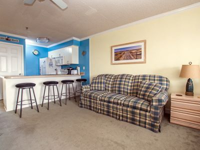 Photo for Convention Center Villa is a newly remodeled studio sized condo, walk to the beach or convention center