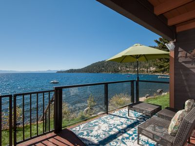 Photo for Lakefront Condo with Lake Access! Spectacular Views! Family Friendly!