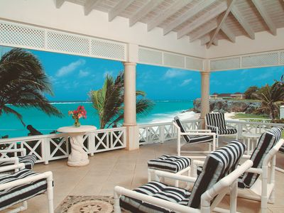 Photo for Fabulous Ocean front, beach view villa with private pool