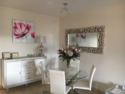Photo for Modern 2 bed 2 Bath ground floor apartment large terrace