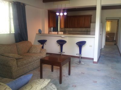 Cozy and Spacious one bedroom one bath apartment. Completely furnished