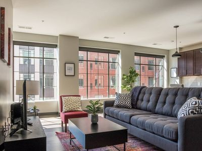Photo for Chic Downtown Loft | Walk to Scioto Mile + Commons