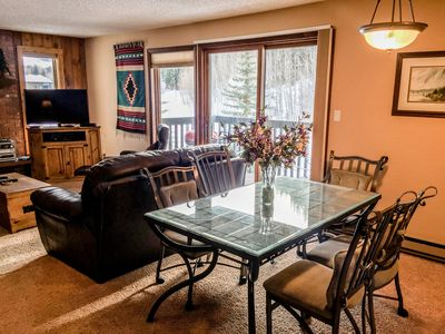 Photo for Cozy 2 Bedroom East Vail Condo #1404 w/ Fireplace.