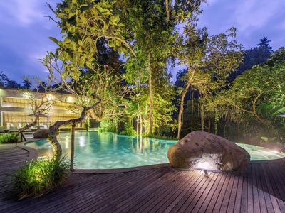 Photo for Feel the Serenity in the Jungle, Luxury Accommodation in Ubud Riverside