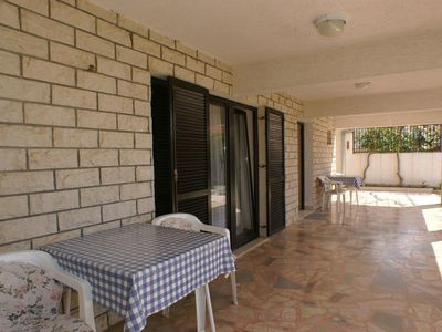 Photo for One bedroom apartment with terrace and sea view Živogošće - Mala Duba, Makarska (A-2606-a)