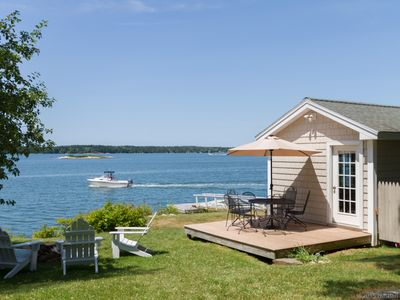 Photo for Midcoast ocean front quiet setting charming property in Phippsburg Maine