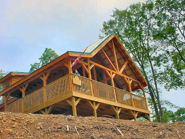 Cabin In The Birds Creek Area Wow What A Cabin 255