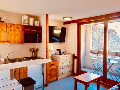 Photo for T2 30 m2, 3 stars, 4/5 people, Both Alps