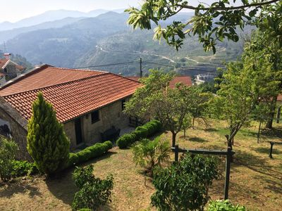 Photo for Historic house right opposite the Castle of Lindoso - ideal base for Gerês Park