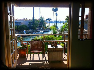 Photo for THE California Beach House, on the Ocean Canal, Naples Island, Pet/Kids WELCOME