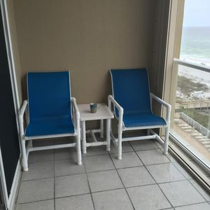 Photo for Bright & Cozy Ocean Front Unit. 2 Bdr/2 bath- Includes Beach service!!, Sleeps 6