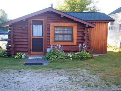 Photo for Crooked Lake Waterfront Log Cabin