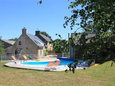 Photo for De Lerio Cottages, pool and spa Gulf of Morbihan,