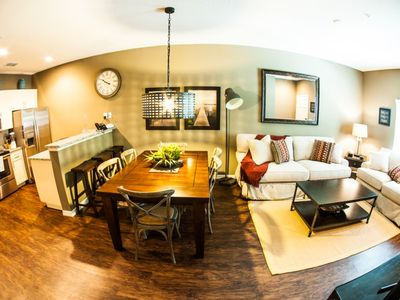 Photo for Luxury on a budget - Lucaya Village - Feature Packed Spacious 3 Beds 2 Baths Townhome - 3 Miles To Disney