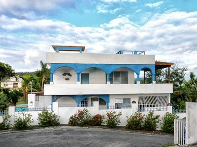 Photo for Villa with Private Pool, Panoramic Ocean Views, 2-5 Bedrooms, Acre of Grounds