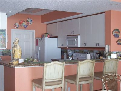 Fully Equipped, Upgraded Kitchen and Bar Area ~ 411
