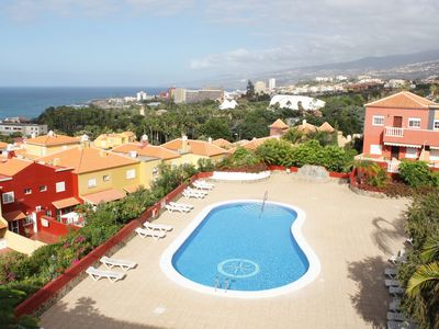 Photo for Relax in Puerto de la Cruz looking at the sea
