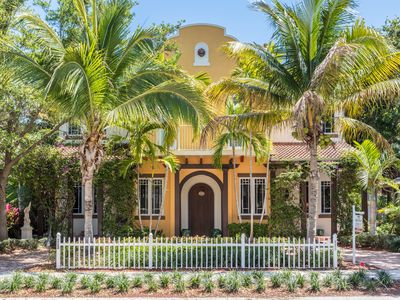 Photo for Mediterranean townhome with private rooftop pool in the heart of Delray Beach