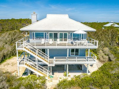 Photo for THIS SPLENDID BEACHFRONT HOME boasts some of the best views of the island!