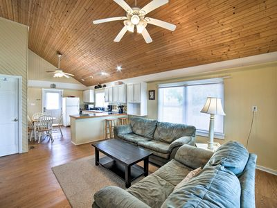 Photo for NEW! Pet-Friendly Oak Island Home-Steps to Shore!