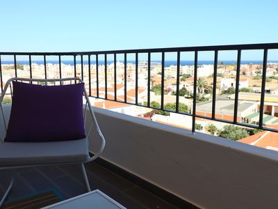 Photo for Lagos, newly furnished apartment, sea and mountain view, 4 pers
