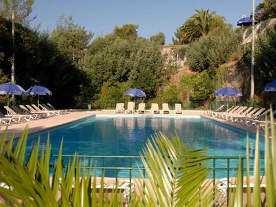 Photo for APARTMENT IN PRIVATE RESIDENCE - POOL & PARKING