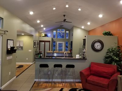 Photo for BKM- FROM $149, Brand New! Huge Yard & Open Space! Lakefront-Sandy Beach-Kayaks