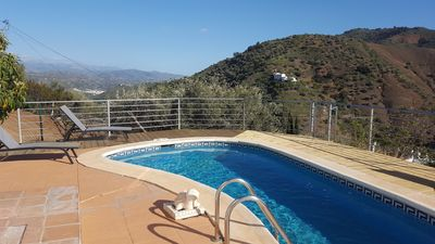 Photo for Private  rural family villa/poo/ wifi/AIRCON,3 bedrooms/ 2 bathrooms, bbq,views!