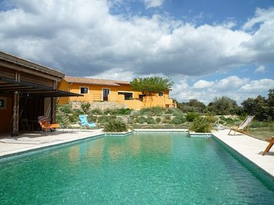 Photo for CABRIALS villa with pool | Holiday house for 8/9 people