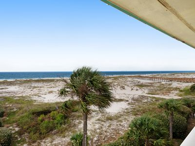 Photo for Cozy, waterfront Gulf condo w/ beach access, shared pool & hot tub