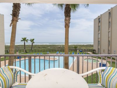 Photo for Beachfront Condo with Multiple Pools! Perfect for Small Families, Couples or Friends!
