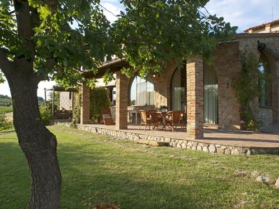 Photo for Country House Nazzano in Vineyards/Olive Grove near San Gimignano (llc)