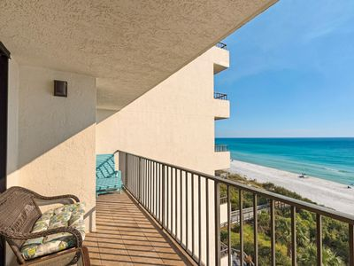 Photo for Gulf Front ~ Spectacular Views of the Beautiful Emerald Coast!! FREE Seasonal Beach Chairs