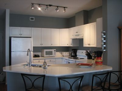 Photo for Amazing, Downtown Discovery Bay  Kelowna. Nice, bright corner unit