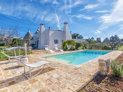 Photo for Trulli Il Torchio, with pool in Itrya Valley
