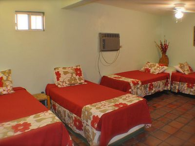 Photo for Cabo San Lucas Traditional GuestHouse walking distance to Medano Beach 3 Twin Bd