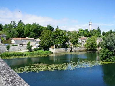 Photo for A beautifully restored stone property overlooking the stunning Charente river.