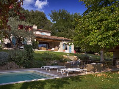 Photo for A Charming Provençal Villa with Pool in Valbonne