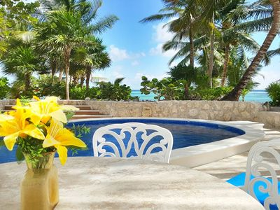 Photo for Villa Mayamor, a great place to sit a while and let the evening float away.