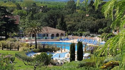 Photo for RESIDENCE PARKS GRIMAUD PIERRE & VACANCES / SWIMMING POOL + BEACH