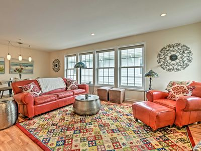 Photo for NEW! Vibrant Townhome: Walk to Douglas Beach Park!