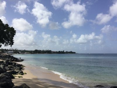 A beach at Speightstown