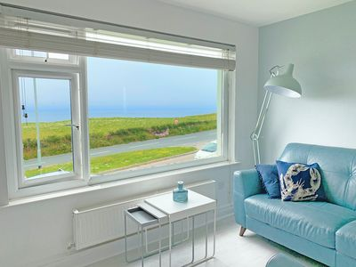 Photo for Coastline 15 Is A Beautiful Cliff Top Apartment With Stunning Views Of Porth
